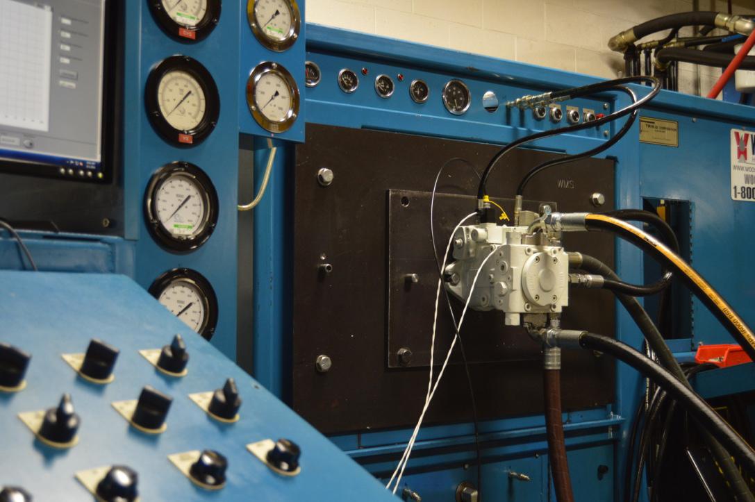 Hydraulic testing diagnostics wooster hydrostatics Hydraulic motor testing