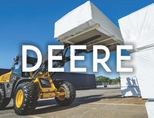 Deere Goes to New Heights with 344L  Compact Wheel Loader